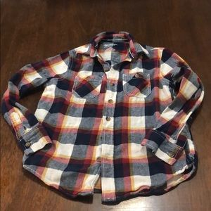 Arizona Jeans Co boys button down shirt